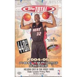 2004 05 Topps Total Basketball Unopened Hobby Box: Sports
