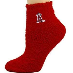 Angels of Anaheim Ladies Red Sleepsoft Ankle Socks