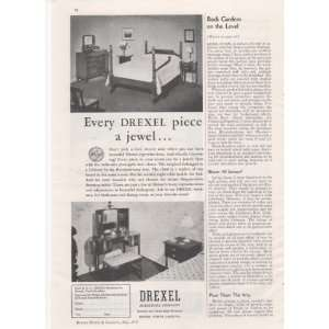 Furniture Company Bedroom Dining Room 1938 Home Antique Advertisement