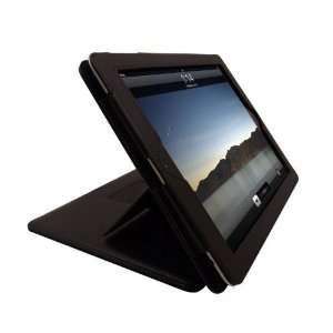 Apple iPad 2 PU Black Leather Advanced Luxury Case/Cover