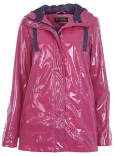 Pink Plastic Raincoat   Coats & Jackets   Apparel   Miss Selfridge