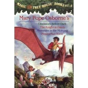 Magic Tree House Boxed Set, Books 1 4 Dinosaurs Before