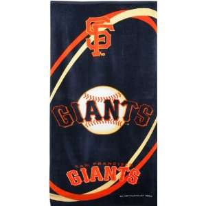 San Francisco Giants MLB 30x60 Beach/Bath Towel