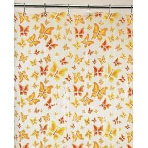 BUTTERFLY clear SHOWER CURTAIN bathroom home decor  Home