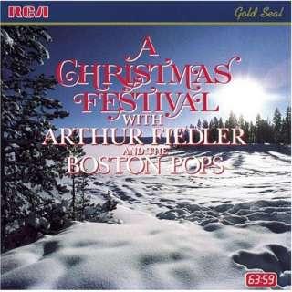 A Christmas Festival Boston Pops, Arthur Fiedler Music