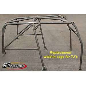 2001 Complete Replacement Weld In Roll Cage For 1997 06 Jeep Wrangler