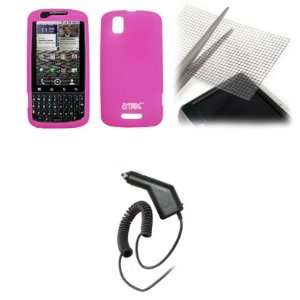 Silicone Skin Cover Case + Universal Screen Protector + Car Charger