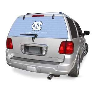 North Carolina Rear Window Rearz Sticker   Decal  Sports