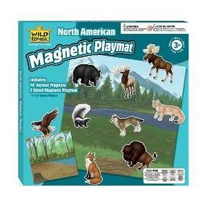 North American Magnetic Playmat [Toy] [Toy] Toys & Games
