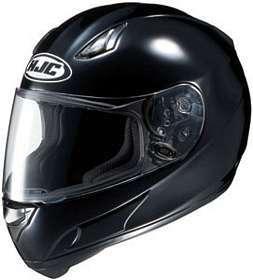 HJC AC 12 AC12 BLACK MOTORCYCLE Full Face Helmet Clothing