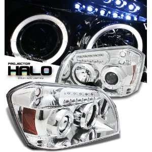 Dodge Magnum Chrome W/Halo Headlight Projector Performance Automotive
