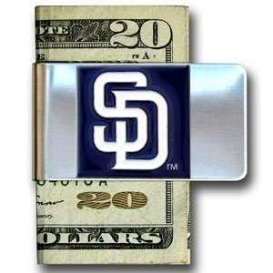 San Diego Padres Large Money Clip   MLB Baseball Fan Shop Sports Team