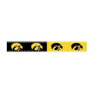 5/8 Grosgrain Ribbon University Of Iowa 3 Yd Roll By The
