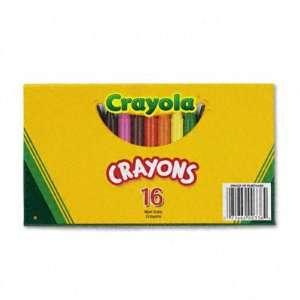 Large Crayola Crayons in Lift Lid Box   Lift Lid Box, 16
