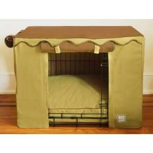 Coco Sand Dog Crate Cover