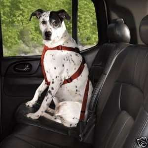 Guardian Gear Nylon Dog Car Seat Harness CRIMSON LARGE