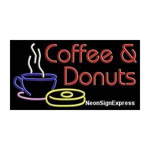 Coffee & Donuts Neon Sign Everything Else