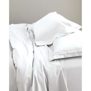 Eileen Fisher Lustrous Cotton Sateen Comforter Cover Twin Pure White