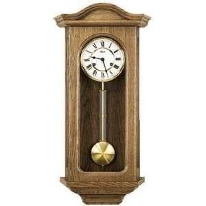Hermles Northfields Regulator Wall Clock in Oak: Home