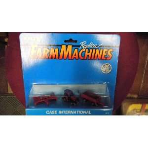 Ertl Farm Machines Replica Case International Diecast Miniatures Toys