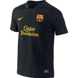 Fc Barcelona Youth Black Nike Replica Away Jersey Sports