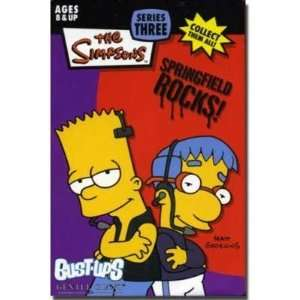 Series 3 Springfield Rocks Barts & Boy Band Mini Figure Toys & Games