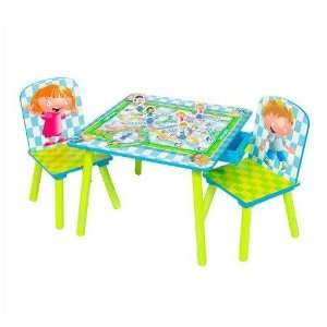 Delta Hasbro Games Square Table & Chair Set   Chutes and