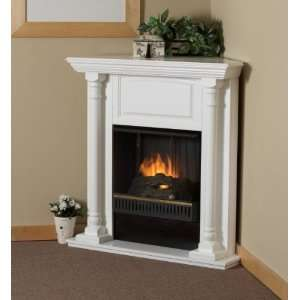 Corner Fireplaces Antique White Corner Fireplaces