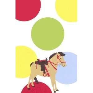 Pony Party, Custom Personalized Girl Birthday Invitation, by Inviting