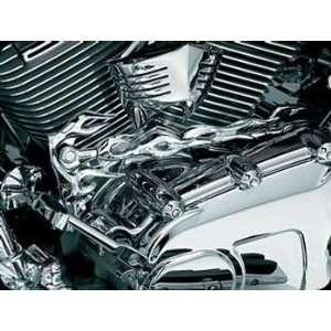 Kuryakyn 1059 Flame Shift Arm Cover For Harley Davidson Automotive