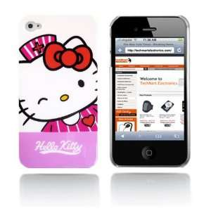 Hello Kitty snap on hard case for iPhone 4G (Pink and