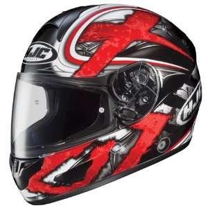 HJC CL 15 Shock Full Face Motorcycle Helmet MC 1 Red XXXL