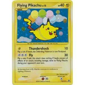 Pokemon Platinum Rising Rivals #113 Flying Pikachu Holo