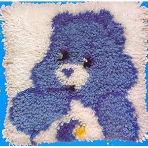 Care Bear Latch Hook Kit 12 Inch X12 Inch  Bedtime Bear