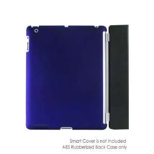 Snap On Back Case For iPad 2   Blue (Compatible with Smart Cover