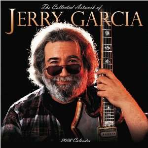 Jerry Garcia Art 2008 Wall Calendar Office Products