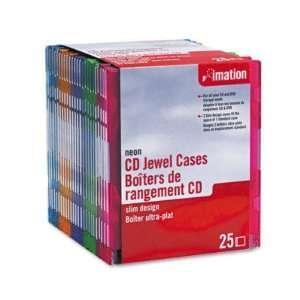 Imation CD/DVD Slim Line Jewel Case IMN41085 Electronics