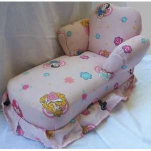 Disney Princess, Hand Made Doll House Chaise Toy, 19 X 14