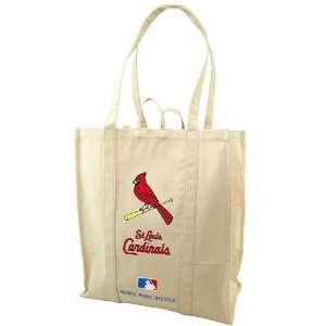 MLB St. Louis Cardinals Natural Resuable Organic Tote Bag