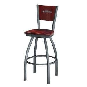 Wood Distressed Heavy   Walnut Grand Rapids Chair Mama Melissa