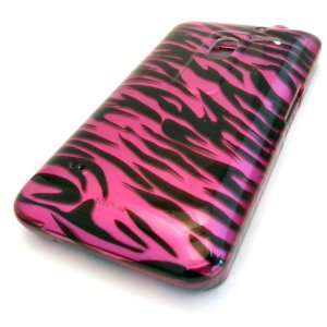 LG MS910 Esteem Pink Zebra Animal Print Design Hard Case