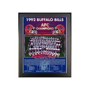 Bills AFC Champions 11 x 13 Plaque from Healy Pro Sports & Outdoors