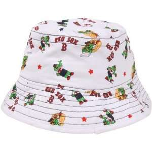 New Era Boston Red Sox Infant Bucket Hat   White  Sports