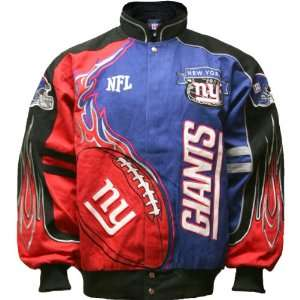 NFL New York Giants You (8 20) Red Zone Jacket Small