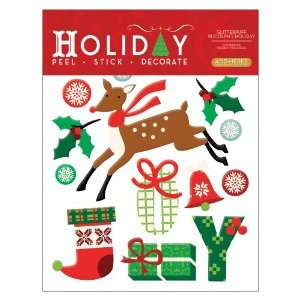 Vinyl Christmas Peel and Stick Instant Wall Sticker Decals Home