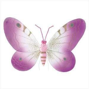 PINK BUTTERFLY WALL DECOR Baby