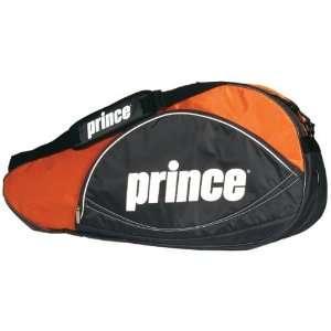 Prince Rally Triple Pack Tennis Bag (Black/Orange)  Sports