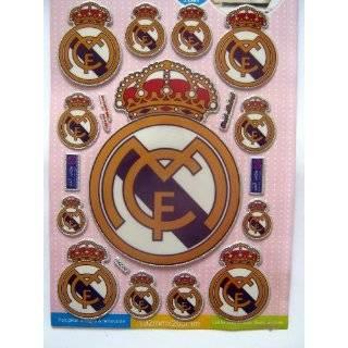 WALL STICKER MURAL VINYL SOCCER Real Madrid 001