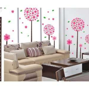 Reusable/removable Decoration Wall Sticker Decal   Four