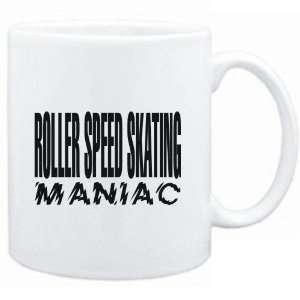 Mug White  MANIAC Roller Speed Skating  Sports  Sports